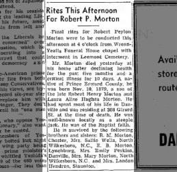 The Bee ( Danville, Virginia ) 23 Nov. 1954