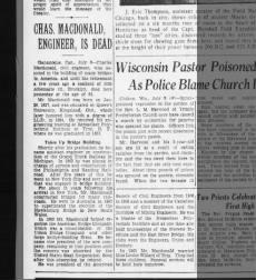 Charles Macdonald death