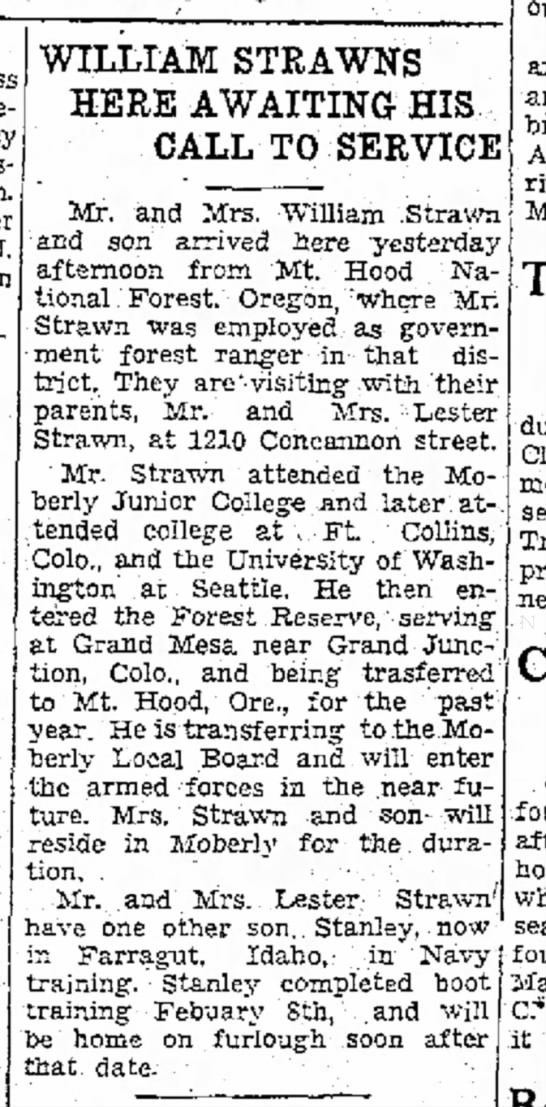 William Strawn - Moberly Monitor-Index 5 Feb 1944 p2