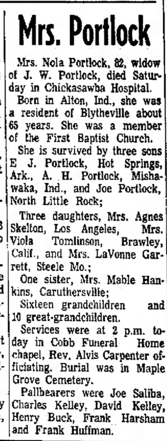 The Courier News (Blytheville, Arkansas) Nov. 15, 1971 pg 4