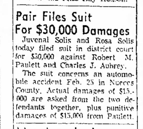 CC Caller Times : 16 March 1961