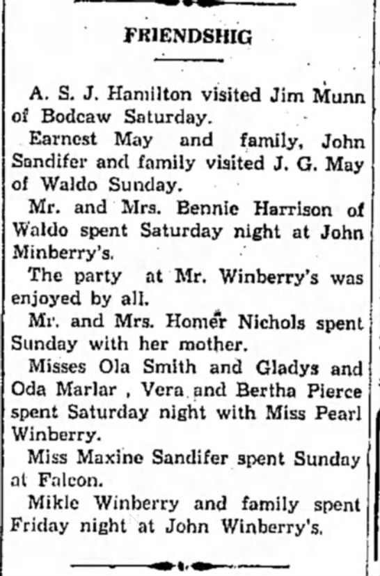 Winberry HS 4 Feb 1930p4