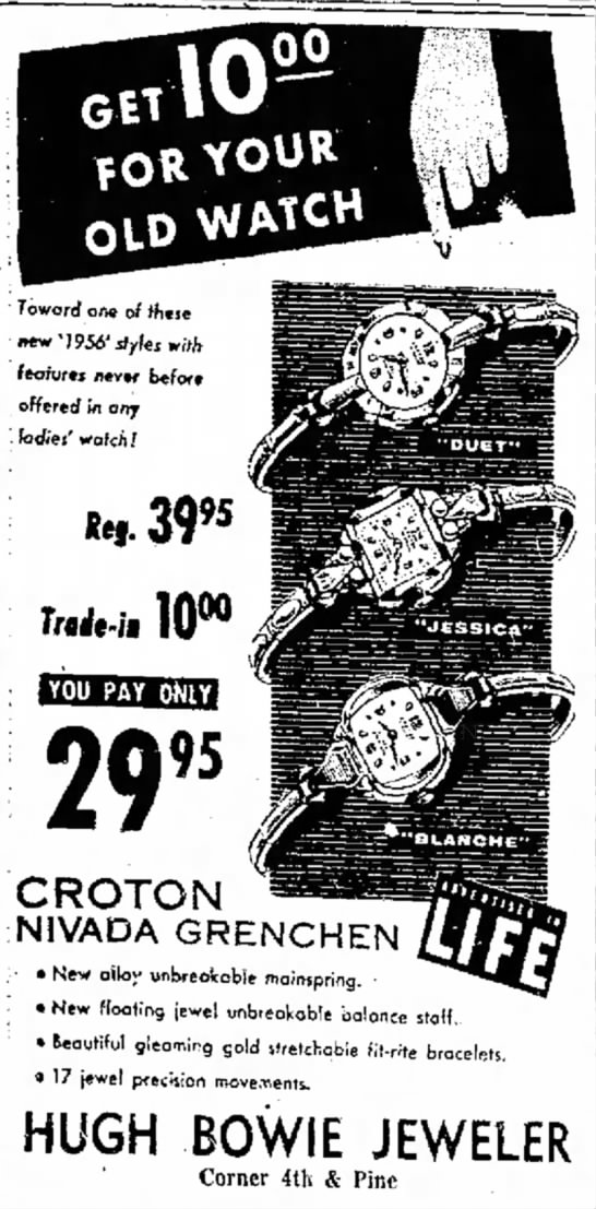 Croton Ad