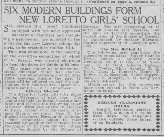 New Loretto Girls' School