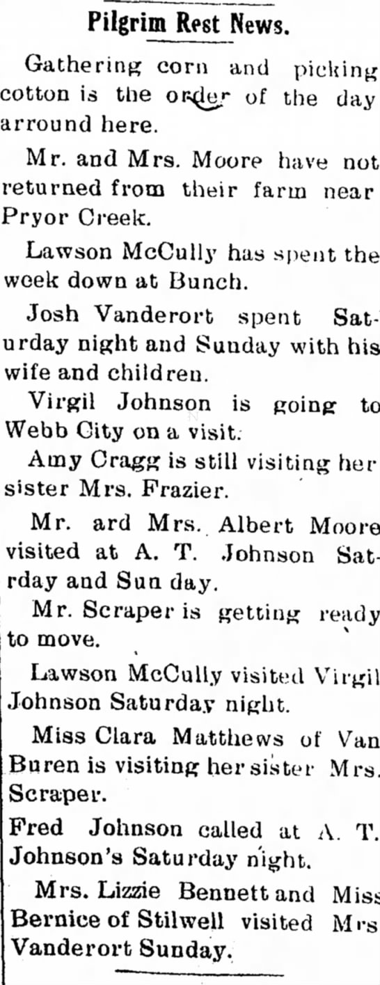 5 Oct 1916, Virgil Johnson