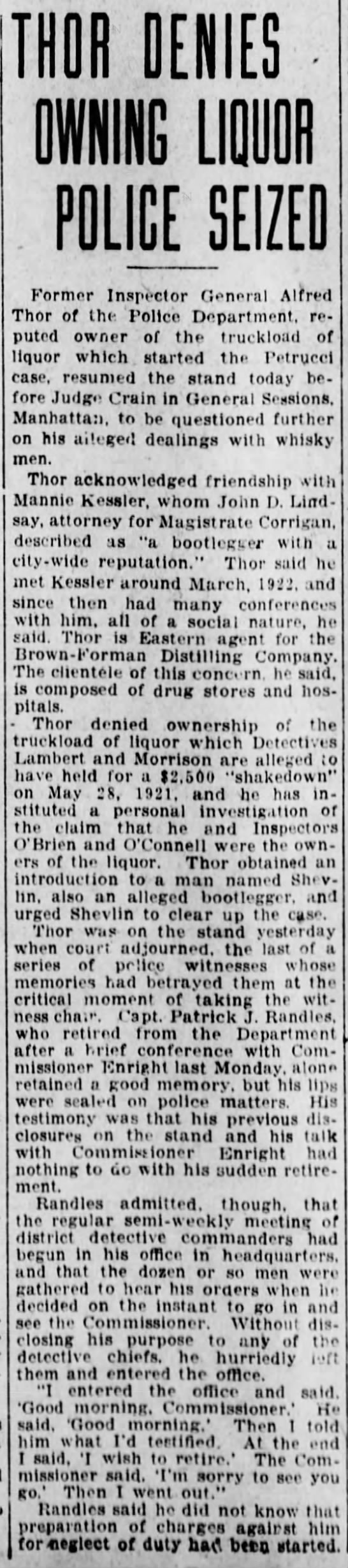 Thor defends himself 19 Sep 1923 Brooklyn Daily Eagle