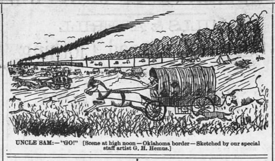 Land rush of 1889