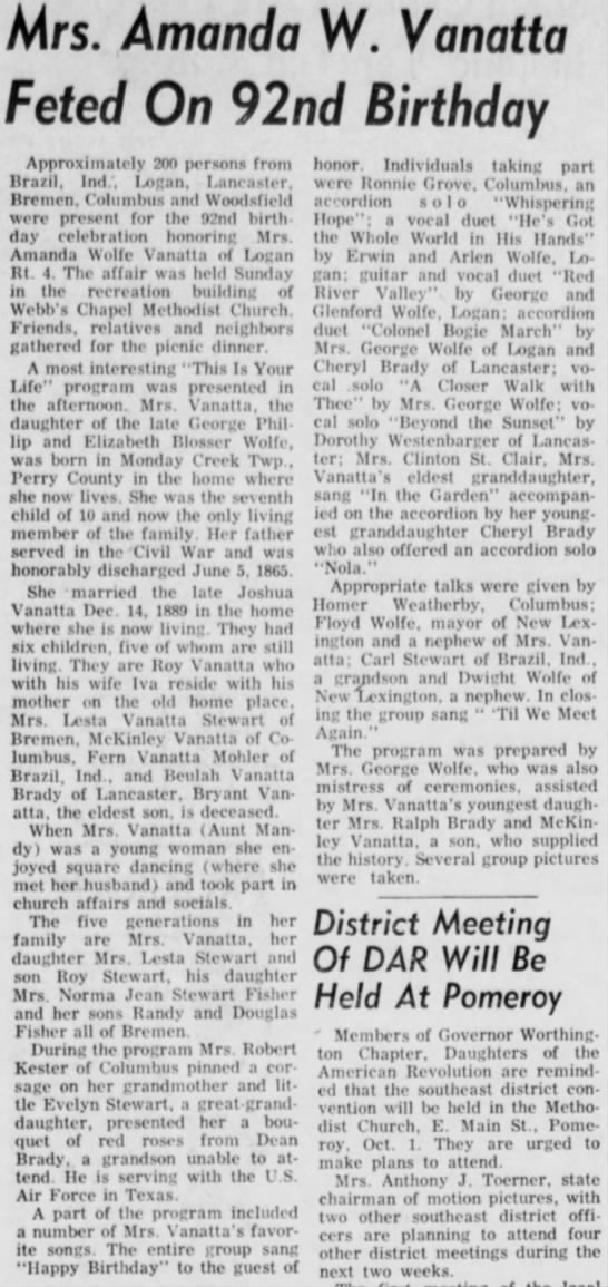 The Logan Daily News (Logan, Ohio)  Tuesday, September 22, 1959 - Page 5