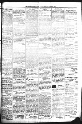 The Daily Deadwood Pioneer-Times from Deadwood, South Dakota on April 21, 1899 · Page 7