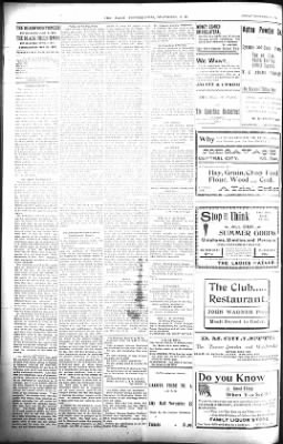 The Daily Deadwood Pioneer-Times from Deadwood, South Dakota on November 11, 1900 · Page 2