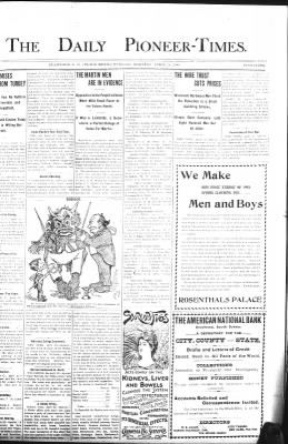 The Daily Deadwood Pioneer-Times from Deadwood, South Dakota on April 24, 1900 · Page 1