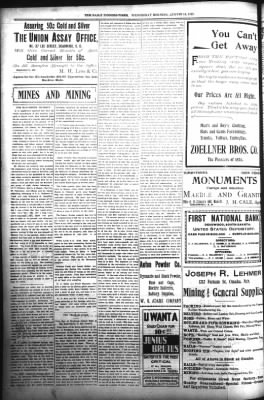 The Daily Deadwood Pioneer-Times from Deadwood, South Dakota on August 16, 1899 · Page 4
