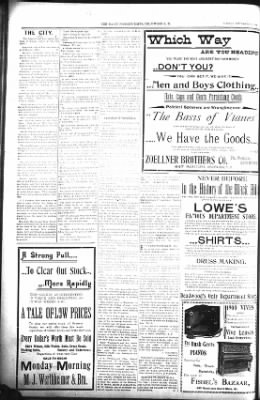 The Lead Daily Pioneer-Times from Lead, South Dakota on September 11, 1900 · Page 8