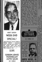 Edward Gibson Nunnelley Auto Sales