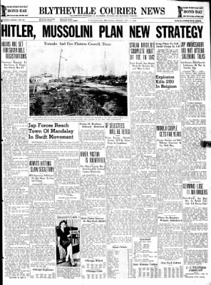 The Courier News from Blytheville, Arkansas on May 1, 1942 · Page 1