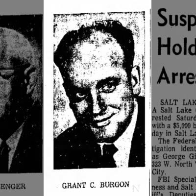 Grant C. Burgon 1968