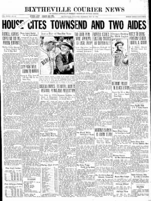 The Courier News from Blytheville, Arkansas on May 28, 1936 · Page 1