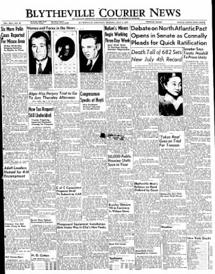 The Courier News from Blytheville, Arkansas on July 5, 1949 · Page 1