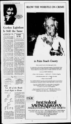 The Palm Beach Post from West Palm Beach, Florida on December 5, 1976 · Page 112