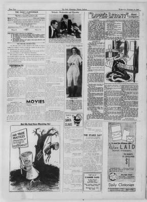 The Daily Clintonian from Clinton, Indiana on December 9, 1936 · Page 4