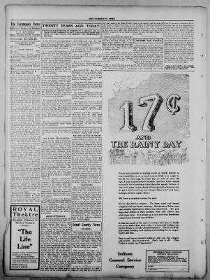 The Fairmount News from Fairmount, Indiana on February 9, 1922 · Page 2
