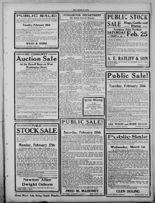 The Fairmount News from Fairmount, Indiana on February 23, 1922 · Page 3