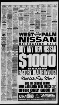 The Palm Beach Post from West Palm Beach, Florida on March 28, 1998 · Page 85