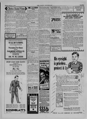 The Daily Clintonian from Clinton, Indiana on September 12, 1944 · Page 3