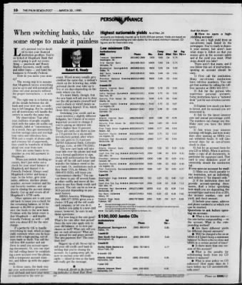 The Palm Beach Post from West Palm Beach, Florida on March 30, 1998 · Page 62