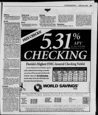 The Palm Beach Post from West Palm Beach, Florida on March 30, 1998 · Page 74
