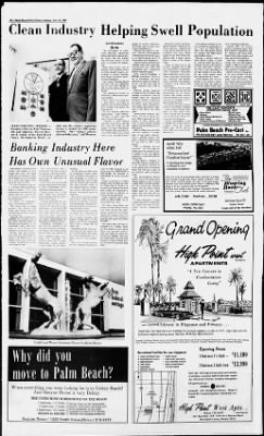 The Palm Beach Post from West Palm Beach, Florida on November 10, 1968 · Page 76