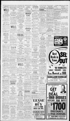 The Palm Beach Post from West Palm Beach, Florida on November 13, 1968 · Page 43
