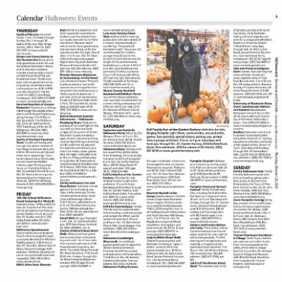 Democrat and Chronicle from Rochester, New York on October 22, 2015 · Page F5