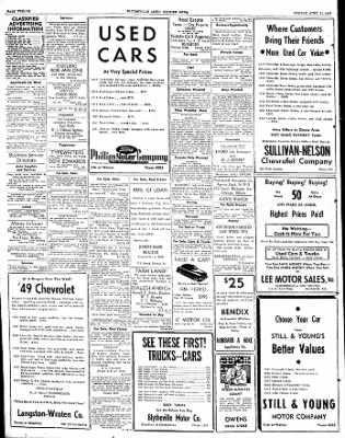 The Courier News from Blytheville, Arkansas on April 11, 1949 · Page 12