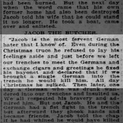 Jacob the German hater