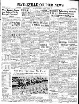 The Courier News from Blytheville, Arkansas on August 1, 1939 · Page 1