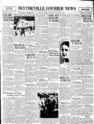 The Courier News from Blytheville, Arkansas on September 24, 1930 · Page 1
