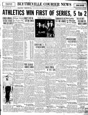 The Courier News from Blytheville, Arkansas on October 1, 1930 · Page 1