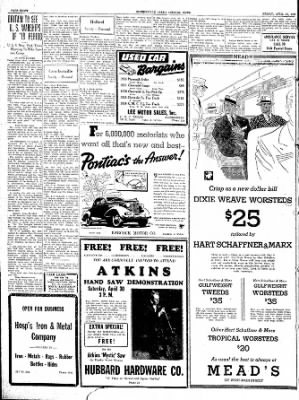 The Courier News from Blytheville, Arkansas on April 29, 1938 · Page 8