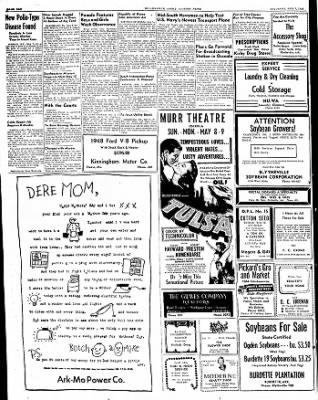 The Courier News from Blytheville, Arkansas on May 7, 1949 · Page 10