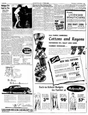 The Courier News from Blytheville, Arkansas on September 7, 1949 · Page 6