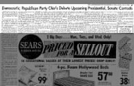 1963, Dem & Repub party differences, Oklahoma