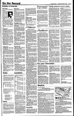 The Salina Journal from Salina, Kansas on December 14, 1985 · Page 13
