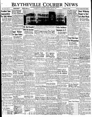 The Courier News from Blytheville, Arkansas on June 23, 1949 · Page 1