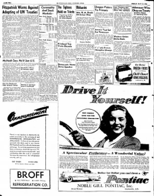 The Courier News from Blytheville, Arkansas on May 16, 1952 · Page 2