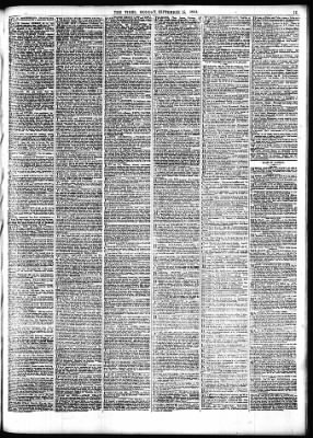 The Times from London,  on September 18, 1854 · Page 11