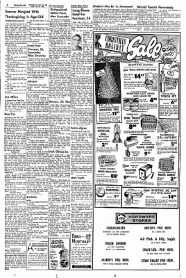 The Daily Herald from Provo, Utah on November 28, 1963 · Page 4