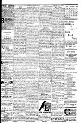 Logansport Pharos-Tribune from Logansport, Indiana on November 9, 1897 · Page 23