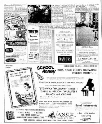 The Mason City Globe-Gazette from Mason City, Iowa on August 26, 1952 · Page 16