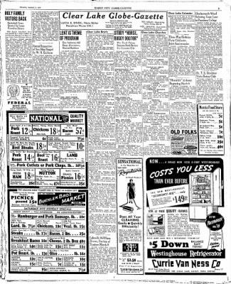 The Mason City Globe-Gazette from Mason City, Iowa on March 3, 1939 · Page 3
